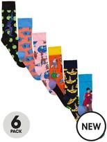 Happy Socks 6pk The Beatles Sock