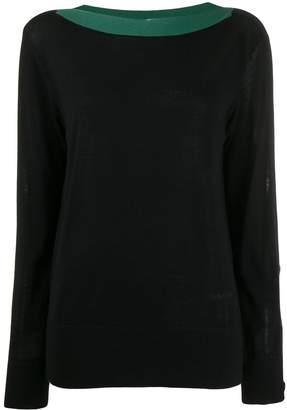 Calvin Klein button detail jumper