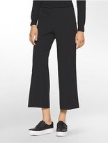 Calvin Klein Straight Fit Cropped Pants