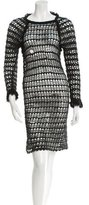 Etoile Isabel Marant Open Knit Knee-Length Dress