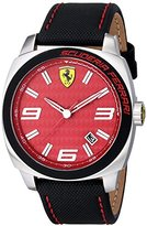 Ferrari Men's 0830164 Aero Evo Analog Display Quartz Black Watch