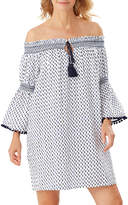 Tommy Bahama Canyon Sky Off-Shoulder Coverup Tunic