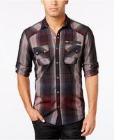 INC International Concepts Men's Trinculo Plaid Shirt, Only at Macy's