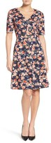 Donna Morgan Women's Floral Fit & Flare Dress