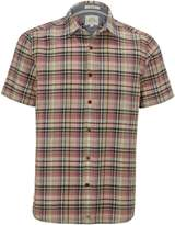 White Stuff Souvenir Check Short Sleeve Shirt