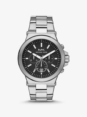 Michael Kors Oversized Dylan Silver-Tone Watch - Silver