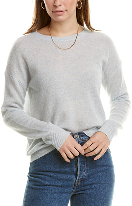 360 Sweater 360Cashmere Dropped-Shoulder Cashmere Sweater