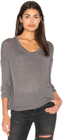 Bella Luxx Sheer Rib Pullover Top