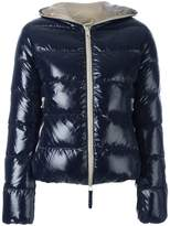 Duvetica zipped hooded jacket