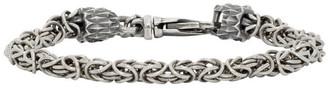 Emanuele Bicocchi Silver Small Byzantine Bracelet