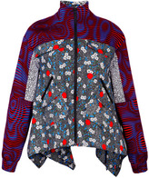 Opening Ceremony Wood Print Pocket Anorak