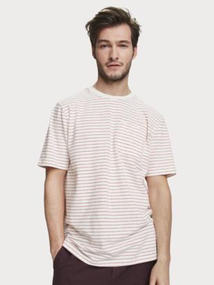 Scotch & Soda Cotton-Linen T-Shirt | Men