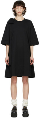 Simone Rocha Black Bow Tunic Dress