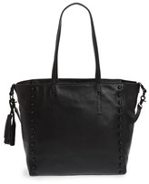 Loeffler Randall Studded Leather Tote - Black