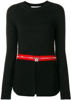 Givenchy zip trim jumper