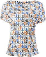 Emilio Pucci printed T-shirt - women - Silk/Viscose - 46