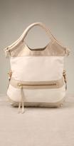 + Corinna Handbags Linen Mini City Tote