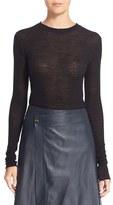 Helmut Lang Women's Side Tie Wool Sweater