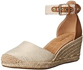Sperry Women's Valencia Sand nat Stripes Wedge Pump