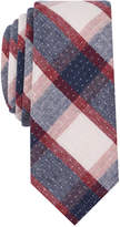 Original Penguin Men's Loker Plaid Slim Tie