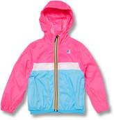 K-Way Claude Colorblock Jacket