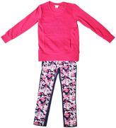 Juicy Couture Girl's Long Sleeve Shirt & Pants Set