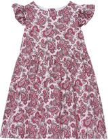 Gant Girls Satin Printed Dress