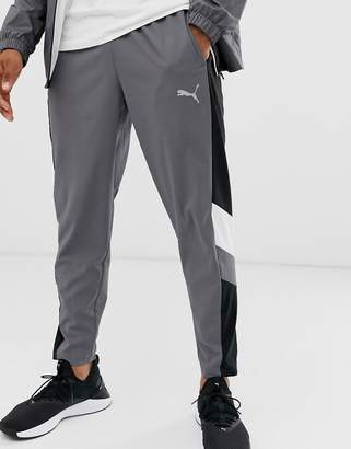 Puma Training reactive packable joggers in grey