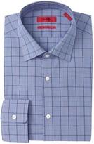 BOSS Mabel Windowpane Check Sharp Fit Dress Shirt