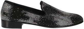 Giuseppe Zanotti Black Leather Loafers
