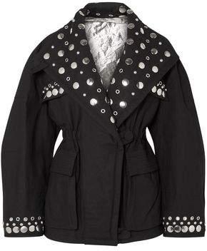 Isabel Marant Studded Cotton-canvas Jacket