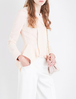 Roland Mouret Lavenden wool-crepe jacket