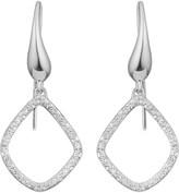 Monica Vinader Riva Kite sterling silver and diamond earrings