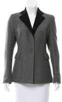 Akris Notch-Lapel Cashmere Blazer