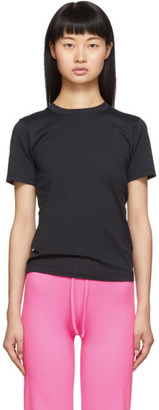 Acne Studios Black Cotton T-Shirt
