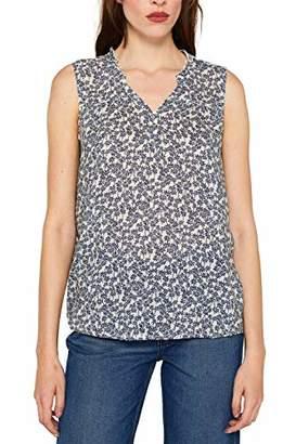 Esprit Women's 059ee1f013 Blouse, (White 100), 12 (Size: )