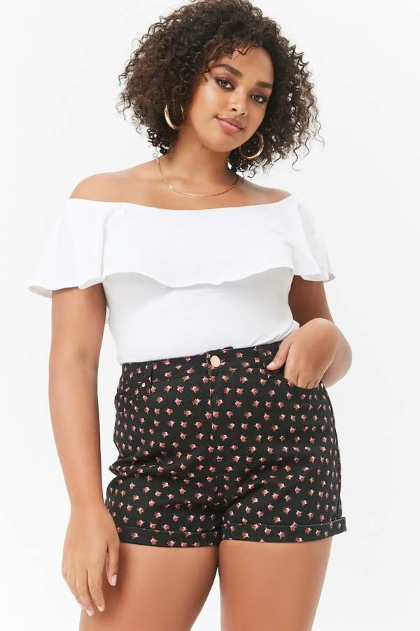 fd42c9809ab Forever 21 Red Plus Size Shorts - ShopStyle Canada