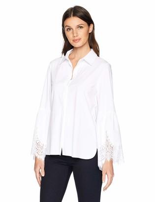 Lysse Women's Colette Lace Sleeve Button Down