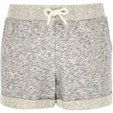 River Island Girls grey jersey shorts