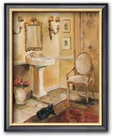 "Art.com French Bath II"" Framed Art Print by Marilyn Hageman"