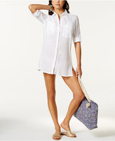 Lauren Ralph Lauren Semi-Sheer Tunic Cover Up