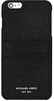 MICHAEL Michael Kors Saffiano Leather Pocket iPhone 6 Plus Case