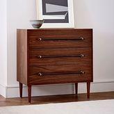 west elm Benson 3-Drawer Dresser - Dark Walnut