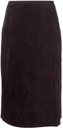 Marni Wrap Mid-Length Skirt
