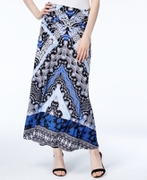 INC International Concepts Petite Printed Convertible Maxi Skirt, Created for Macy's