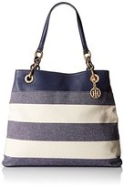 Tommy Hilfiger Signature Chain Tote