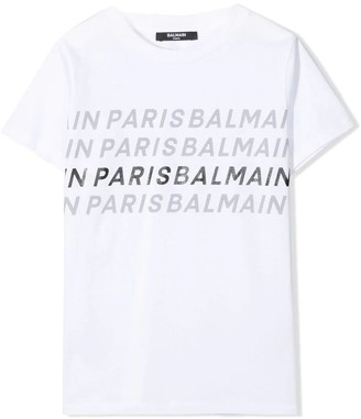 Balmain T-shirt With Writings