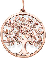 Thomas Sabo Tree of Life 18ct rose gold-plated and zirconia pendant