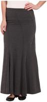 Mod-o-doc Classic Jersey Seamed Godet Maxi Skirt