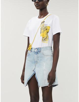 Off-White Painting logo-print cotton-jersey T-shirt